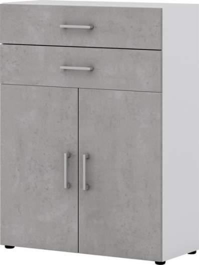 Office Von Röhr 2 Türiger Aktenschrank 80cm Breit Inkl Auszüge